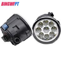 1 SET (Links + rechts) Auto Styling Front LED Nebelscheinwerfer Nebelscheinwerfer 26150-8990B Für Nissan Tiida Juke Patrol 3 Y62 2006-2015