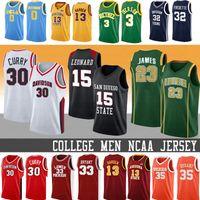 LeBron James Curry hombres NCAA Kawhi Leonard 2 30 Stephen Bryant baloncesto de la universidad de New Kevin Durant