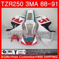 본체 YAMAHA 라이트 화이트 핫 TZR250 3MA TZR 250 RS RR YPVS TZR250RR 118HM.76 TZR-250 88 89 90 91 TZR250 1988 1989 1990 1991 페어링 키트