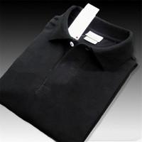 Herren-Designer-Polo-T-Shirts der Männer Polo Homme Sommer Polos Hemd Stickerei Polos Shirts High Street Trend-Shirt Spitze T XS-4XL 22colors