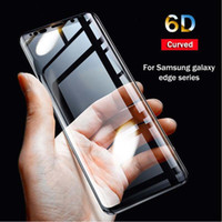 6D Curved Tempered Soft Film Screen Protector For Samsung Galaxy S9 s9 S10 Edge Plus TPU Protector Glass on Samsung A8 A9S