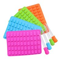 New Cavity Silicone Mold DIY Jelly Ice Mould 53 Holes Gummy ...