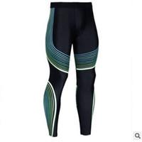 2019 повседневная мужская сжатия брюки работает колготки мужчины бегуны бег тощий Спорт леггинсы тренажерный зал фитнес спортивные брюки с S-3XL
