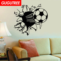 Decorate Home football cartoon art wall sticker decoration D...
