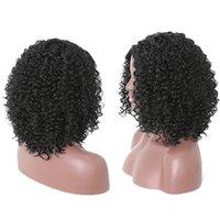 Perruques de Cosplay perruques synthétiques noires naturelles avec perruque synthétique naturelle de cheveux avec le bandage réglable pour les femmes de la mode