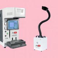 مصغرة 150W دخان امتصاص مقبض تعديل الدخان النازع لحام لتنقية الهواء للحصول على ماكينة ليزر LCD