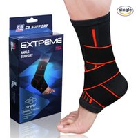 Sports Ankle Protective Sleeve Brace Compression Support Sle...