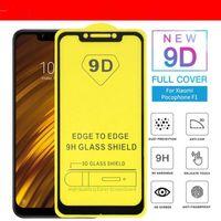 9d cobertura completa de vidro temperado para iphone xr xs mas x 8 7 6 g7 poder g7 além de protetor de tela sem pacote dhl um