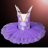 White Little Swan Children's Ballet Tutu Dance Dress Costumes Ballet Costumes Kids Profession Dancewear Ballroom Dancing Dress