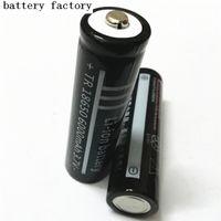 batterie li-ion 18650 lithium 6000mAh 3.7V batterie LED peut être utilisé dans la torche lumineuse de charge Po etc .. Livraison gratuite