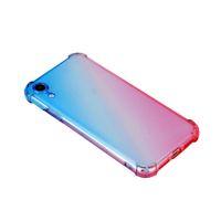 4 cantos proteção air proteção casos à prova de choque translúcido caso de silicone macio tpu para iphone x xs i5 i6 i7 i8 plus tampa traseira