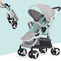 5. 5 KG Multifunctional Mini Lightweight Folding Baby Strolle...