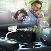 الدورية سيارة رائحة المرطب الهواء الطازجة تنقية الهواء المحمولة لتنقية الهواء مع 2 شاحن USB