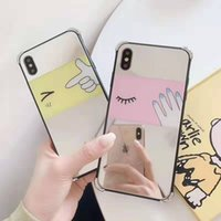 Glass mirror Apple X phone case for iPhone XS MAX XR 8plus f...