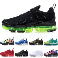 Nike Air Vapormax plus TN HOT SALE 2018 New 2018 TN Plus-VM in Metallic-Olive Männer Herren Lauf Luxus-Schuh-Turnschuhe Marke Turnschuhe 40-45 m03