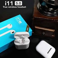 i11 TWS Wireless Bluetooth Headphones Earbuds with Charging ...