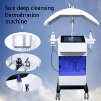 Microdermoabrasão hidra máquina facial hidro jet casca hidro dermoabrasão BIO olhos levantar RF anti-rugas uso salão de beleza
