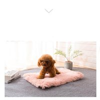 Pet Cat Blanket Dog Cat Sleep Mat Soft Long Plush Carpet Dog...