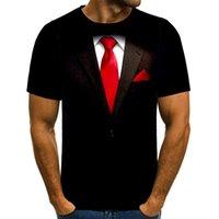 Shirt UNEY Cheating vestito T per gli uomini US Size divertente shirt modello T superiori 3D manica corta Top Interessante verniciatura Tee