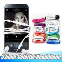 3. 5mm Colorful J5 Earphones With Volume Control Headset Head...