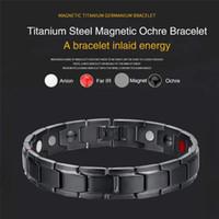 Bracelet thérapeutique thérapeutique en acier inoxydable