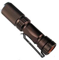 Portable llevó CREE Q5 mini antorcha ciclo al aire libre para acampar en bicicleta iluminación linterna caza de la noche pesca lámpara linterna resplandor