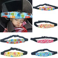 Adjustable Baby Stroller Head Support Pad Pillow Fastening P...