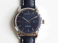 V7 Transocean günlük tarih İzle İsviçre Cal.45 Otomatik Hareket 28800 Halk Sağlığı CNC 316L Çelik Kasa kapağı Safir Kristal Super ışıklı mens watch