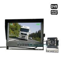 Auto Vehicle Backup Cameras Kit with DVR, AHD 1080P 4Pin Car ...