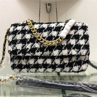 Fashion Houndstooth Chain Bag for Ladies 2019 New Women Shou...