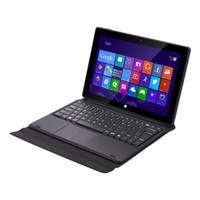 Schwarz Winpad BT301 10,1 Zoll N3350 4 GB RAM / 64GB ROM 2 in 1 Windows-Tablet-PC mit magnetischer Tastatur