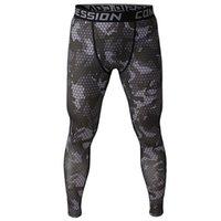 2020 camuffamento compressione jogging uomo pantaloni idoneità collant mens pantaloni lunghi leggings indossare jogginsg