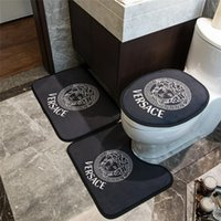 Tide Brand Toilet Seat Cover INS Room Mat with Heaf Print De...
