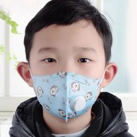 Kids Cartoon Mask 5 Layers Child Anti Dust Filter Breathing ...