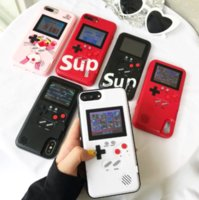 For iphone 6 7 8 plus X XR XS MAX Handheld Game Consoles TPU...