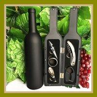 Five-piece Wine Bottle Opener Set Red Wine Corkscrew Wine Bottle Stoppers High Grade Wines Kitchen Bar Tools LJJA3806N