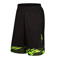 2019 SY Männer Basketball Shorts Laufshorts Wandern Tennis Fitness Gym Training Kurz Schnell trocknend Loose Beach Sport Short Plus Size