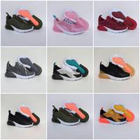 270 2019 Pirate Black enfants Chaussures de basket enfant Courir mode durable et beau Sneaker Taille 28-35