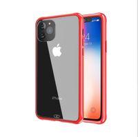 Hava Yastıklı Soğurma Şeffaf Şeffaf TPU Yumuşak Telefon Kılıfı Kapak iPhone 11 Pro Max XS Max XR X 8 7 6 Plus