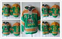 6de3bffd9 Anaheim Ducks hoodies 8 Teemu Selanne 9 Paul Kariya 10 Corey Perry 15 Ryan  Getzlaf 17 Ice Hockey Hoody Sweatshirts Red Green Orange. US  34.90    Piece. New ...
