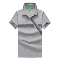 Mens Classic Polo T- shirt Summer Loose Mens Short Sleeve T S...