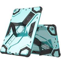 Casi 10pcs per Apple Tablet Ipad Case Mini1 Mini2 Mini3 Mini4 Air Air2 Pro 10.2 Protettivo con supporto