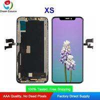 Premium Quality OLED / ЖК-экран для iPhone XS Hard OLED INCELL TFT Двойной COF Технология дисплея Ассамблеи Perfect Touch Свободная перевозка груза DHL