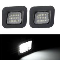 2PCS LED أضواء السيارات عدد لوحات السيارات لدودج رام 1500 2500 3500 2003-2018 السيارات الاضاءه البيضاء الخفيفة لوحات السيارات