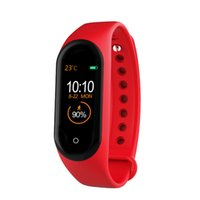 Per mi Band 4 Fitness Tracker Guarda Sport braccialetto frequenza cardiaca intelligente Guarda 0,96 pollici Smartband Health Monitor Wristband per Android
