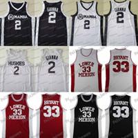 NCAA Uconn Huskies Spezielle Tribute College Gianna Maria onore 2 Gigi Mamba niedrigerer Mersion # 33 Bryant High School Memorial Basketball Trikots für Herren Womens Jugend