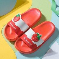 2020 الفاكهة النعال الأطفال الفاكهة الكرتون عدم الانزلاق المنزل داخلي الصنادل والنعال الشاطئ أحذية الأطفال مريح لطيف S4