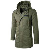 SOL ROM erkek rüzgarlık Kapaklar Yüksek Kaliteli Gevşek ceket Rüzgarlık moda Adam Saf renk Kaşmir Büyük boy Ceket S-4XL