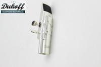 Dukoff معدن الفضة مطلي المعبرة ل ألتو تينور سوبرانو ساكسفون ساكس فوهة الآلات الموسيقية الملحقات حجم 5 6 7 8 9