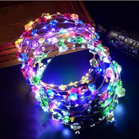New arrival Hot Selling Women LED Light Up Hair Wreath Hairb...